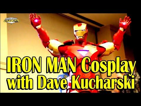 Dave Kucharski - Iron Man Cosplayer   COMIC BOOK SYNDICATE