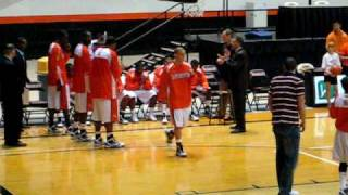 Sam Houston State University Bearkats 2009-2010 Mens Basketball Roster Introduction (11-14-09)