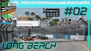 LOTTERER STINKT! - Rennen 2: Long Beach | FORMEL E KARRIERE | F1 Bros League | KrazyKennez