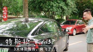 试驾特斯拉model3P,性能版真的太爽了!