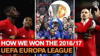How We Won the 16/17 UEFA <b>Europa League</b> | Manchester United ...