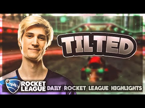 Pro Rocket League Moments: xQc rages so bad he doesn't know what to do thumbnail
