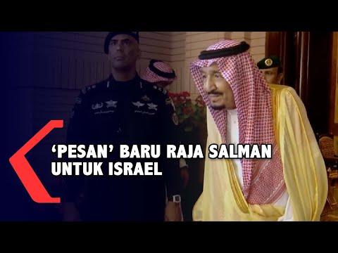 Pesan Baru Raja Salman pada Israel Soal Palestina