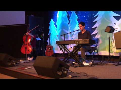 The Christian group Cloverton performs the song