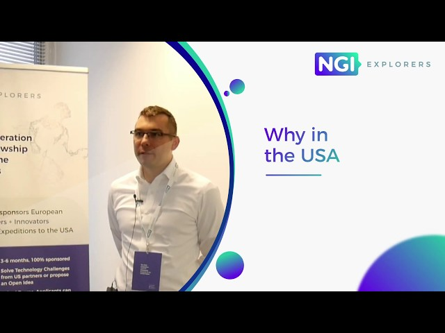 NGI Explorers First Expedition: meet the Explorers | Michal Kedziora