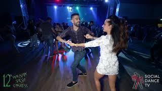 Panagiotis Aglamisis & Elektra - Salsa Social Dancing | Balkan Salsa Congress 2018