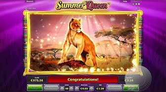 Big Win on Summer Queen, €1 bet on Ovo Casino!