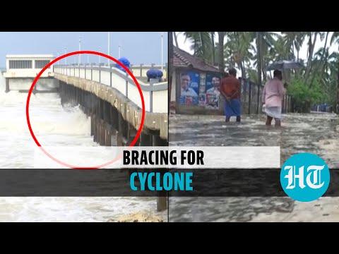 Cyclone Tauktae: Waves damage Kerala pier; NDRF teams in Gujarat; Navy prepares