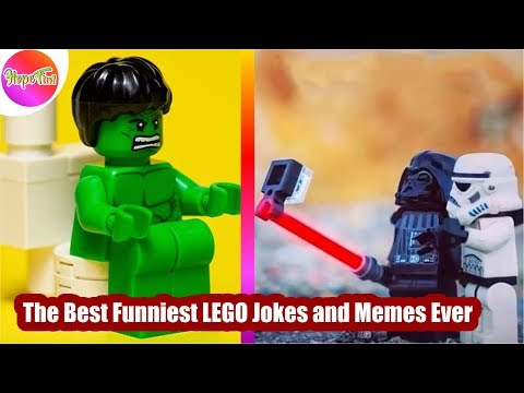 The Best Funniest LEGO Jokes and Memes Ever