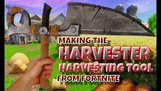Making the Harvester Harvesting Tool from Fortnite