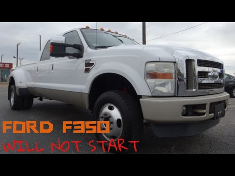 Ford F-350, Will not crank will not turn over no start no run.
