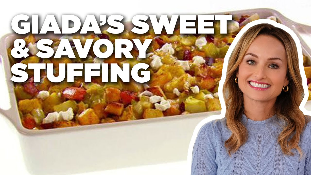 Giadas sweet and savory stuffing food network youtube giadas sweet and savory stuffing food network forumfinder Images