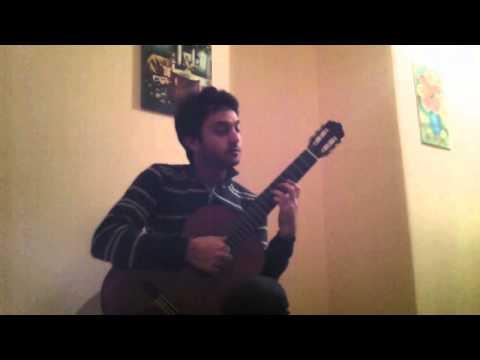 Tu scendi dalle stelle (Classic Guitar Arrangement by Giuseppe Torrisi - Performed by Dario Bitetti)