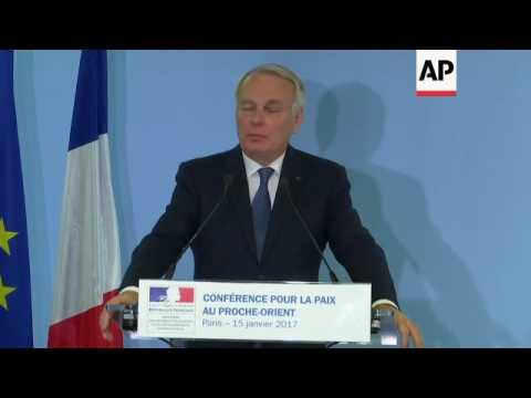 France FM on Trump Israel embassy threat