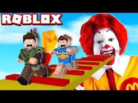 ESCAPE DO MC DONALD'S NO ROBLOX!