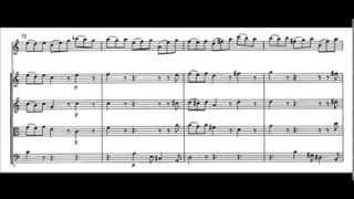 Bach - Concerto per violino BWV 1041 - III: Allegro assai (score)
