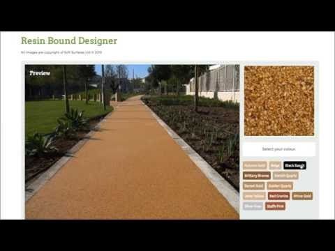 Personal Resin Bound Surface - Designing your own Area