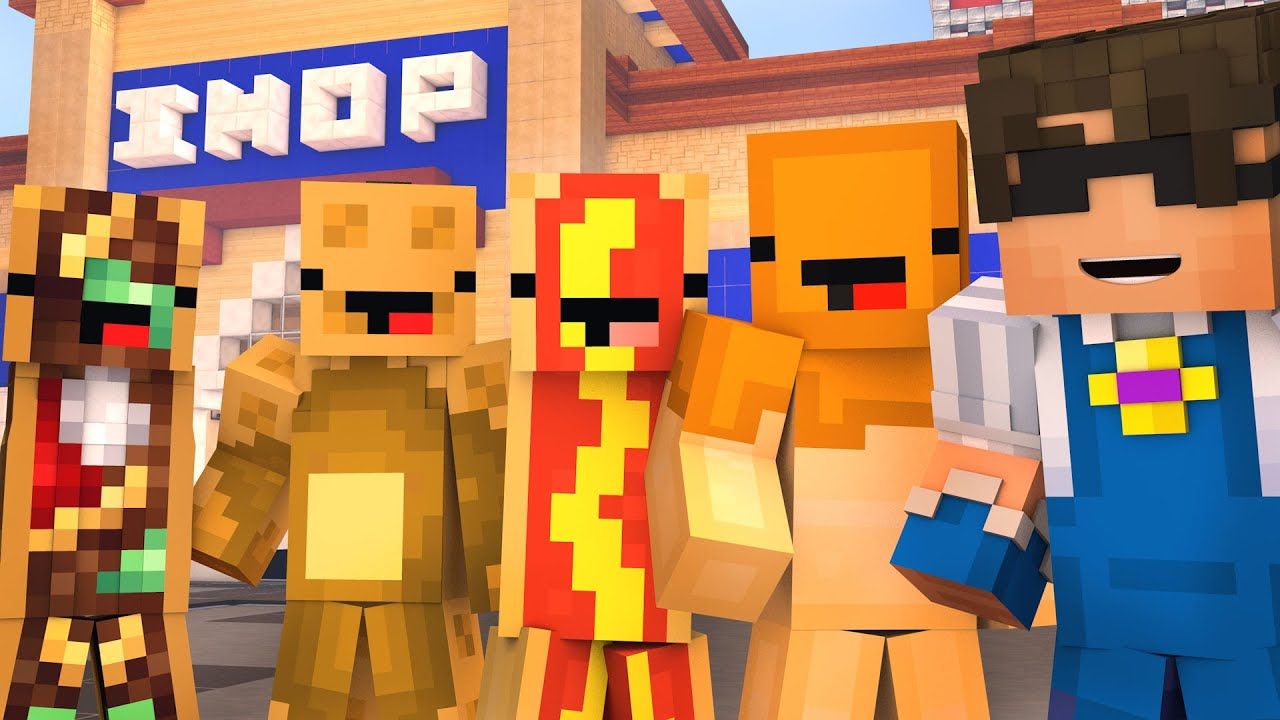 Minecraft IHOP HIDE N SEEK 2! (pls sponsor us) - YouTube