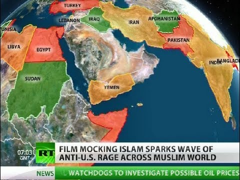 Flames & Fury: Anti-US rage sweeps Muslim world 'like wildfire'