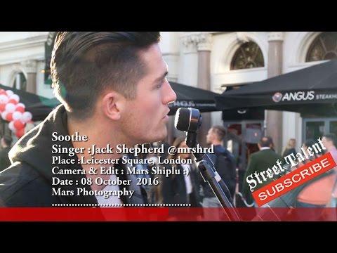 AMAZING Street musician! (Epic Music Video) HD ,Soothe by Jack Shepherd @mrshrd , Street Talent