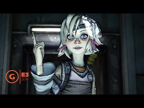 Ashly Burch aka Tiny Tina - Floor Report E3 2014