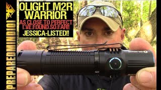 Gambar cover Olight M2R Warrior: As Close To Perfect As I've Found - Preparedmind101