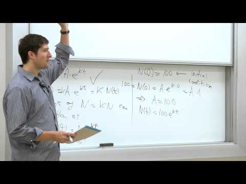 Mathematical Biology. 01: Introduction to the Course