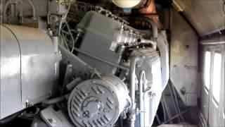 M62 Szergej indítása motortérből.