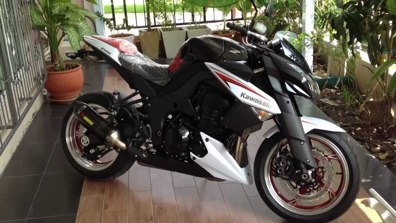 Z1000 2013 Special Edition. - YouTube
