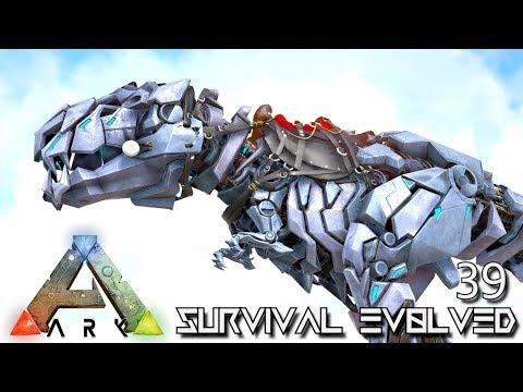 ARK: SURVIVAL EVOLVED: TEK TREX & MANTICORE WARLORD E39 !!! ( ARK EXTINCTION CORE MODDED )