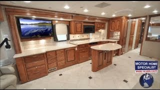 2011 HOLIDAY RAMBLER ENDEAVOR Luxury RV for Sale (Part Two) at www.MHSRV.com
