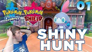 🔴 SHINY SOBBLE - Day 1   Pokemon Sword and Shield: Shiny Hunting