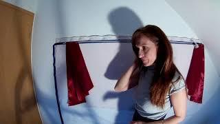 Пошив штор ,ламбрекенов своими руками. Два одинаковых свага выкраиваем. Урок 4.