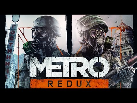 Metro: Last Light Redux All Cutscenes (Game Movie) PS4 1080p HD