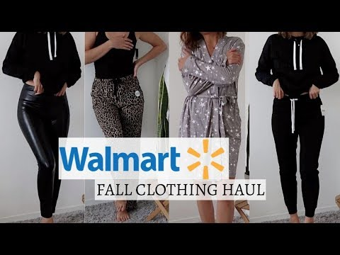Walmart Try-On Haul | Fall Comfy Clothes