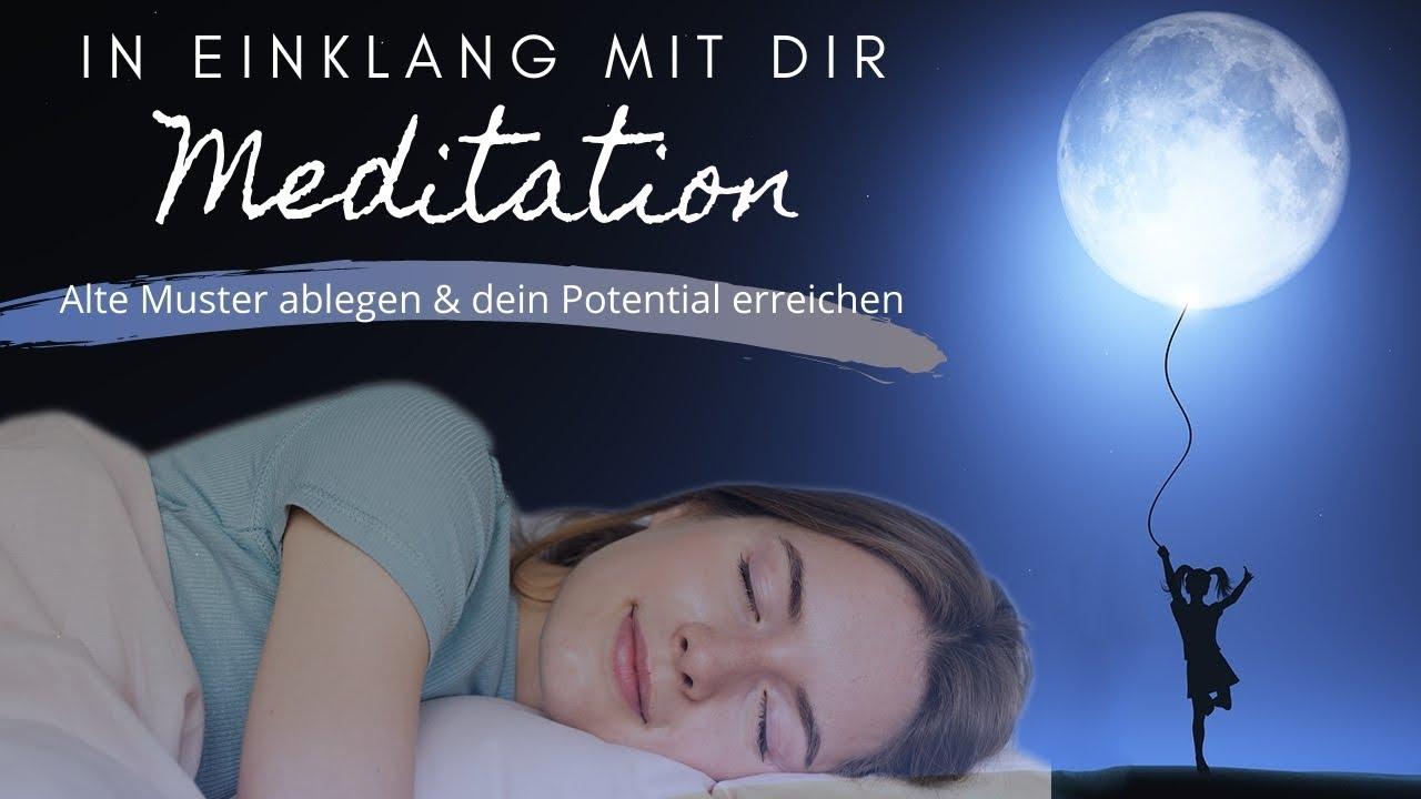 Meditation zum Schlafen 🌟  Unnötiges ablegen, wohlig einschlafen & dein Potential erreichen
