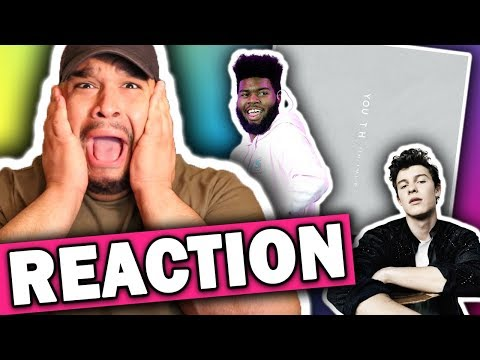 Shawn Mendes ft. Khalid - Youth [REACTION]
