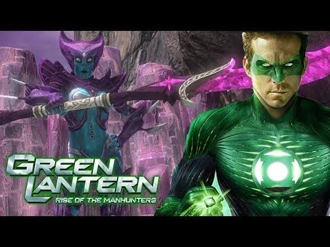 Green Lantern: Rise of the Manhunters - All Cutscenes Part 1