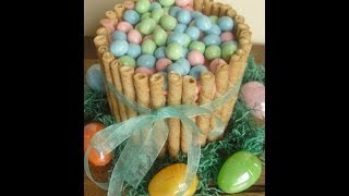 How To Make A Easter Basket Cake Recipe And Tutorial