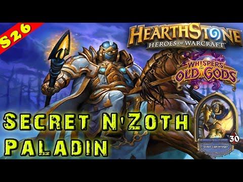 Hearthstone | Secret Paladin N'Zoth Deck & Decklist | Constructed STANDARD | Legend Old Gods