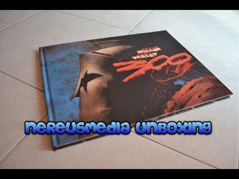 300 by Frank Miller unboxing