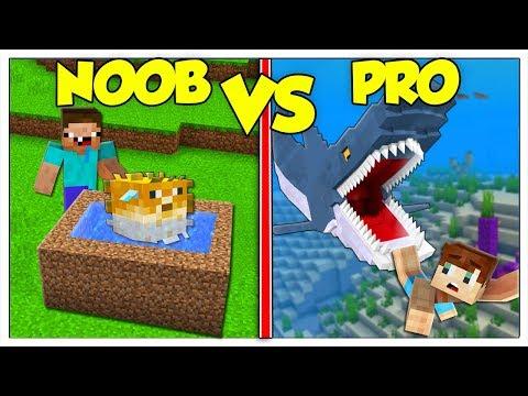ACQUARIO NOOB CONTRO ACQUARIO PRO! - Minecraft ITA