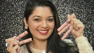 LAKME 9 TO 5 Weightless Lip and Cheek Matte Mousse Lip Colour | Review & Swatches