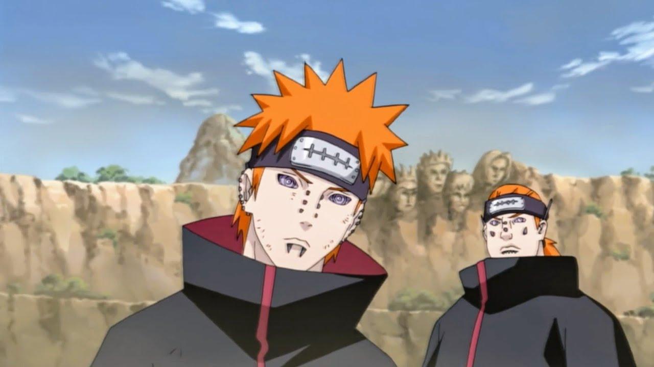 Download Naruto vs Pain Full Fight English dubb part 1   Naruto sage mode vs Pain   pain vs Naruto English