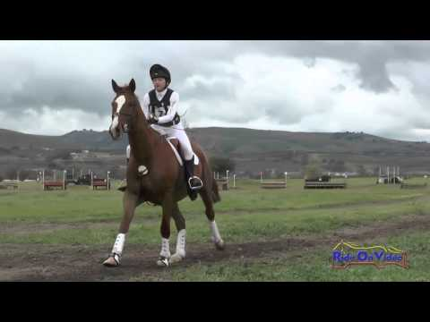 174XC Elizabeth Meehan on Hoagy Carmichael JR Novice Cross Country Twin Rivers Ranch March 2016
