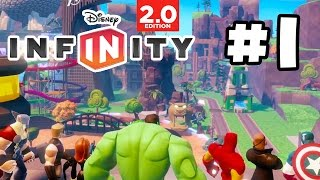 Disney Infinity 2.0 Gameplay Walkthrough - Toy Box - Part 1 - INSANE FUN!! (1080p HD)