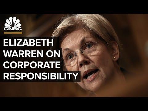 Sen. Elizabeth Warren On Making Companies Accountable To Employees | CNBC
