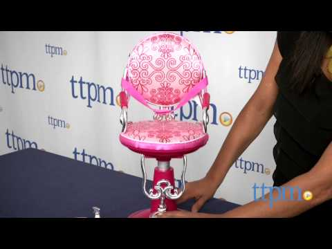 Our Generation Salon Chair from Battat & Our Generation Salon Chair from Battat - YouTube