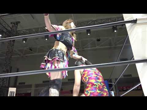 2019/5/12 Marvelous3周年カルッツ川崎大会 星月芽依VS中島安里紗.