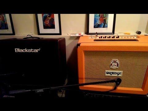 blackstar artisan 30 orange ad30 comparison youtube. Black Bedroom Furniture Sets. Home Design Ideas